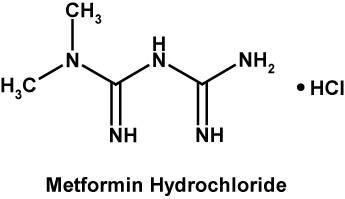 Chemische Zusammensetzung von Metformin