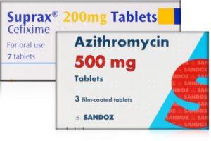 Azithromycin und Suprax gegen Tripper
