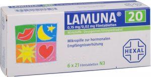 ᐅ Lamuna 20 / 30 Pille rezeptfrei kaufen ++ Online Rezept