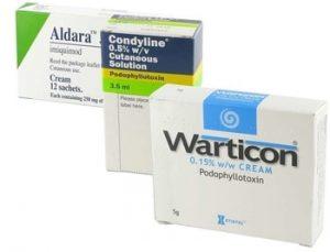 Medikamente gegen Feigwarzen online kaufen