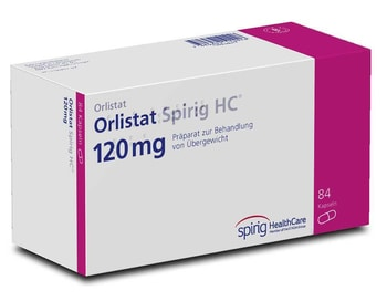 Orlistat 120 mg (Xenical Generikum)