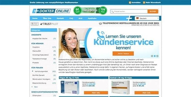 Customer Service von Dokteronline