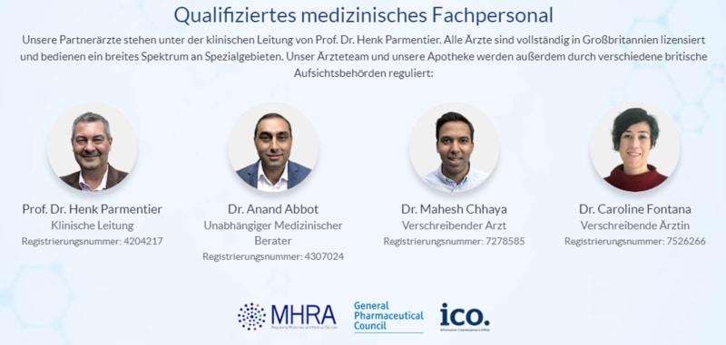 Online Ärzte von Euroclinix