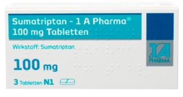 Sumatriptan-Tablette