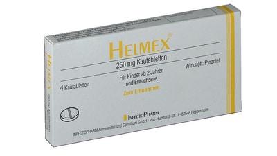 Pyrantel (Helmex)