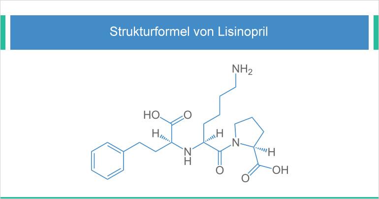 ACE Hemmer Lisiniopril gegen Bluthochdruck