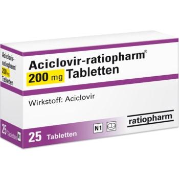 Aciclovir Tabletten rezeptfrei