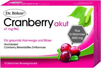 Cranberry gegen Harninfekte
