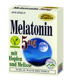 Melatonin 5mg Schlafmittel rezeptfrei
