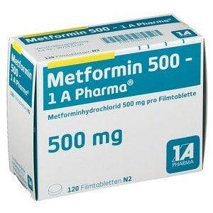 Metformin 500mg online