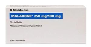 Malarone Preis