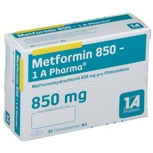 Metformin 850 mg