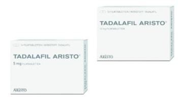 Tadalafil Aristo online