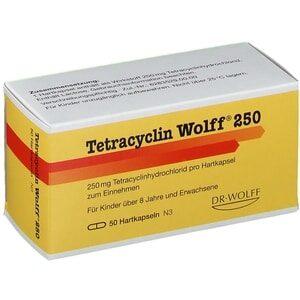 Tetracyclin gegen Akne