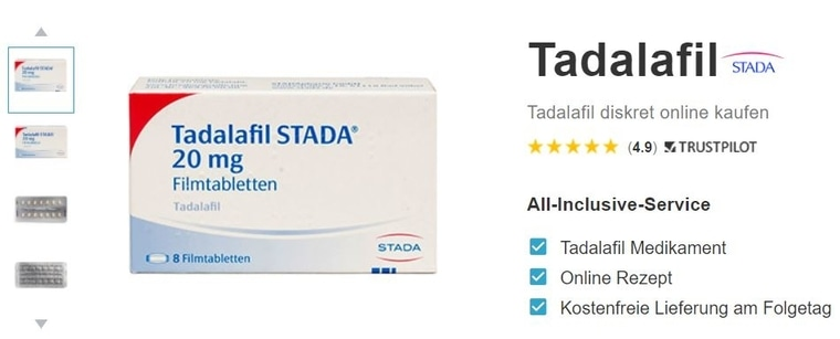 Tadalafil Stada kaufen