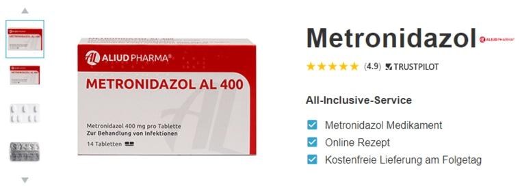 metronidazol online rezept